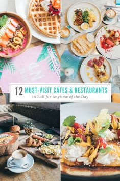 12 Must-Visit Cafes & Restaurants in Bali For Anytime of the Day Food For The Gods, Cafe Restaurant, Travel Ideas, Bali, Restaurants, Breakfast, Ethnic Recipes, Cafes, Morning Coffee