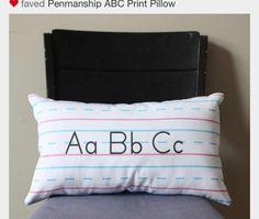 DIY, fun pillows for Trey & Chris