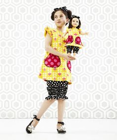 Look at this Orange An-Enenenomy Bow Dress - Toddler & Girls on #zulily today!