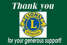 Lions Clubs International has clubs and million members. We're the world's largest service club organization. Lions Clubs International, International Brands, Leon Logo, Service Club, Service Ideas, Lion Poster, Foundation, Emblem, Vinyl Banners