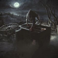 Werewolf and Carriage