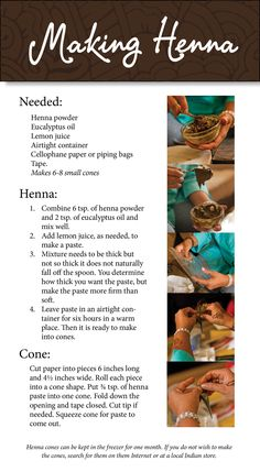 Make your own #henna  - or use fine point washable brown makers for younger kids