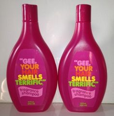 images of gee your hair smells terrific | Gee Your Hair Smells Terrific Shampoo 12 oz Bottles | eBay    Now it sells for $14.99!! YIKES!!! Does smell good tho ~ ~ ~  :)