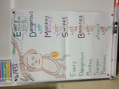 Long division anchor chart- might be more fun than the tired family one.
