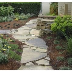 colonial landscaping ideas pathway - Google Search