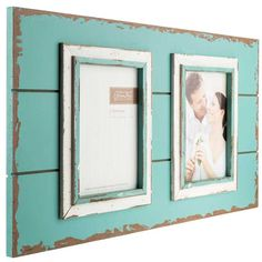 Get 5 x 7 Blue & White Pallet 2-Opening Frame online or find other Collage Frames products from HobbyLobby.com