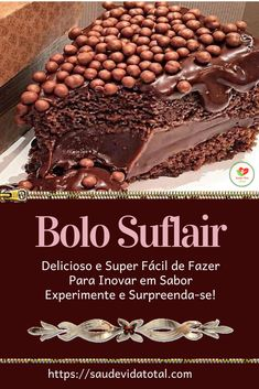 Chocolate Desserts, Love Chocolate, Sweet Recipes, Cake Recipes, Cake In A Jar, Cake Boss, Yummy Cakes, Sweet Tooth, Bakery