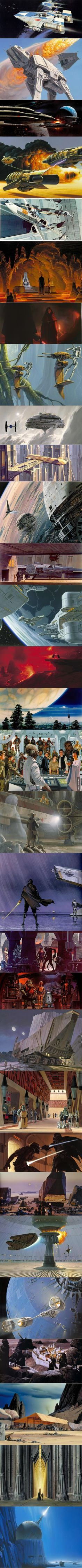 High resolution Star Wars concept art