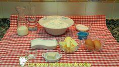 Receta fácil de bollo de leche o bollos Suizos