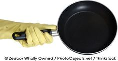 Non-stick cookware contains several toxic perfluorinated compounds (PFCs) like perfluorooctanoic acid (PFOA), which can cause thyroid disease. http://articles.mercola.com/sites/articles/archive/2011/07/30/another-reason-to-ditch-your-nonstick-cookware.aspx