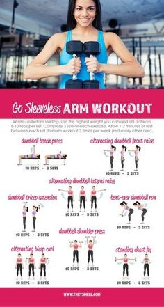 Me Time at the Gym – Get Your Arms in Shape for Spring Fashion with this free printable Go Sleeveless workout routine. Me Time at the Gym – Get Your Arms in Shape for Spring Fashion with this free printable Go Sleeveless workout routine. Fun Workouts, At Home Workouts, Best Arm Workouts, Workouts For Arms, Best Arm Toning Exercises, Aerobic Exercises, Belly Exercises, Workouts For Teens, Exercises At The Gym