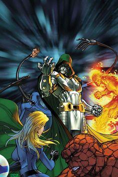 Dr. Doom vs F4