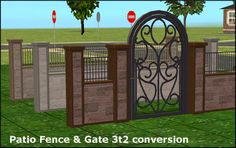 amovitamsim: 2 sets of fences and gates. Both... - TS3 to TS2 Conversions List