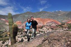 """""""Góra siedmiu kolorów""""!; w. Purmamarca w północnej Argentynie"""