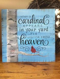 When a cardinal appears in your yard it's a visitor from diy pallet projects, pallet