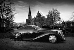 Ugur Sahin returns with Rolls Royce Jonckheere Aerodynamic Coupe II design