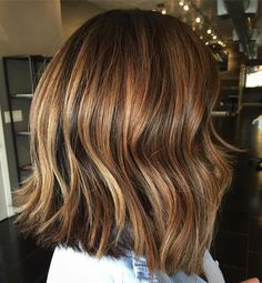 Bronde Shoulder-Length Cut