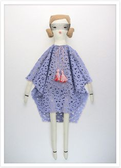 Personalized Gift For A Little Girl: Tabitha Rag doll