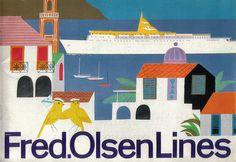 Fred.Olsen Lines #cruises (1960s)