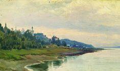 Plyos (2), 1889 de Isaac Levitan (1860-1900, Lithuania)