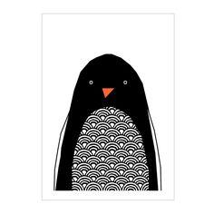 Print . Hello Penguin - A4