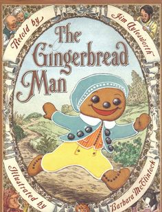 Vintage Gingerbread Man- too cute