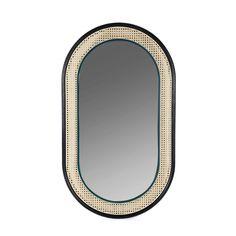 Art Furniture, Furniture Design, Wood Mirror, Mirror Mirror, Leaner Mirror, Soul Design, Unique House Design, Creation Deco, Home Decor Items