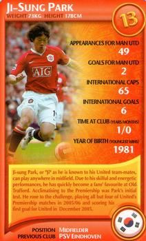 df04501ebcd 2007 Top Trumps Specials Manchester United  NNO11 Ji-Sung Park Front