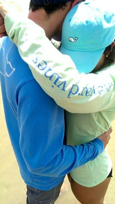 Vineyard Vines couple oh my GOD. Best thing I have ever seen. VV <3