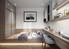 Room Design Bedroom, Study Room Design, Home Room Design, Home Bedroom, Home Interior Design, Modern Small House Design, Small Room Design, Living Room Tv Unit, Living Room Interior
