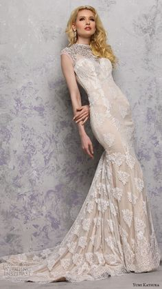 ハイネックのマーメイドラインは大人の魅力を引き立てる♡ セクシーな花嫁衣装・ウェディングドレスの一覧・まとめ。