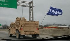 A special warfare unit was spotted flying a Trump flag in public. Now the Navy is investigating. - The Washington Post