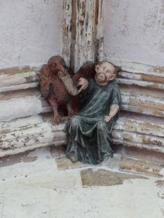 boss on roof of cloister - Norwich cathedral east anglia
