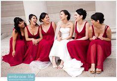 San Francisco Wedding Photographer, bridal party portraits, laughing wedding photos