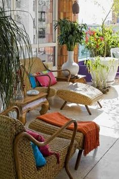 Brazilian decor - great inspiration for inside the home or the garden