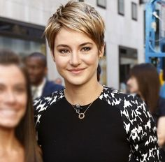 shailene woodley pixie - Google Search