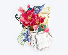 HSN March 8th, 2017 Sneak Peek 2   Anna's Blog - Window Box Card Making Kit (make 20 cards) with 200 embellishments and eleven Cutting Dies