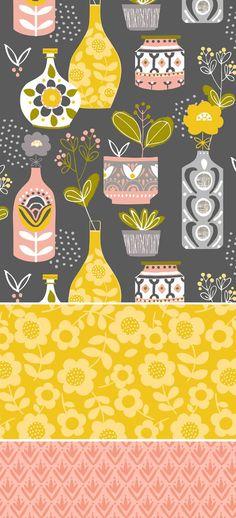 wendy kendall designs – freelance surface pattern designer » fern kitchen: