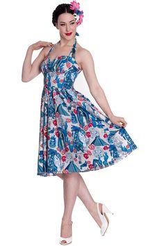 Hell Bunny Aztec 50's Dress
