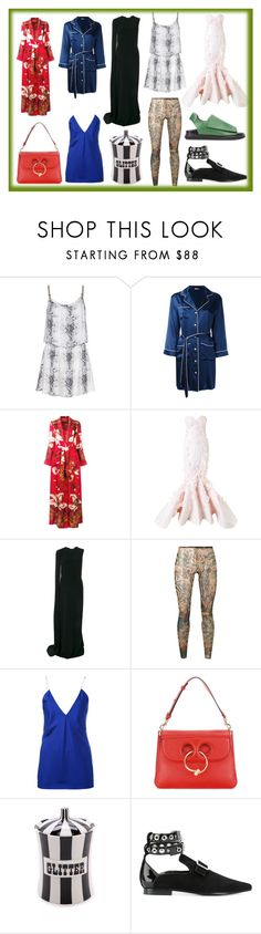"""""""Glorious day of Fashion"""" by donna-wang1 ❤ liked on Polyvore featuring Heidi Klein, P.A.R.O.S.H., F.R.S For Restless Sleepers, Mikael D, STELLA McCARTNEY, Dsquared2, Haider Ackermann, J.W. Anderson, Jonathan Adler and Robert Clergerie"""