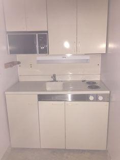 Dwyer Vintage kitchen kitchenette Stove Sink refrigerator cabinet porcelain  #Dwyer