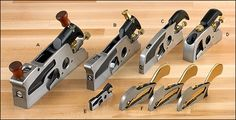 Veritas® Shoulder Planes - Woodworking