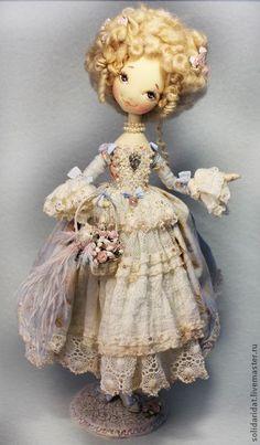 Boneca de pano estilo vitoriano