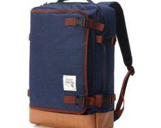 Multipocket-Rucksack schwarz von BagDoRi auf Etsy