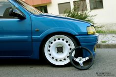 Peugeot 106 XSI on 16'' Steelies