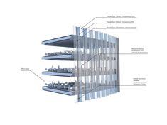 Edificio de 280 metros de altura para la ciudad china de Taiyuán. Una promoción…
