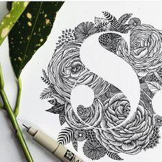 S by @littlepatterns #designspiration #lettering #creative #design - View this Instagram https://www.instagram.com/Designspiration/
