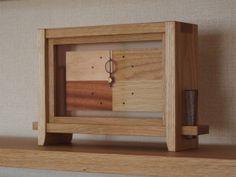 momanの置き時計 - 栗山町の木工家具ショップ、木の工房 mono moman(モノ モマン、monoman)
