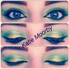 Just Doing Katie: Tinkerbell Inspired Makeup