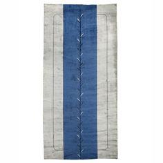 Lot 318: Meshad. carpet. c. 1930, hand-woven wool. 134 w x 268 l in. estimate: $20,000–30,000. Persian signature to corner.
